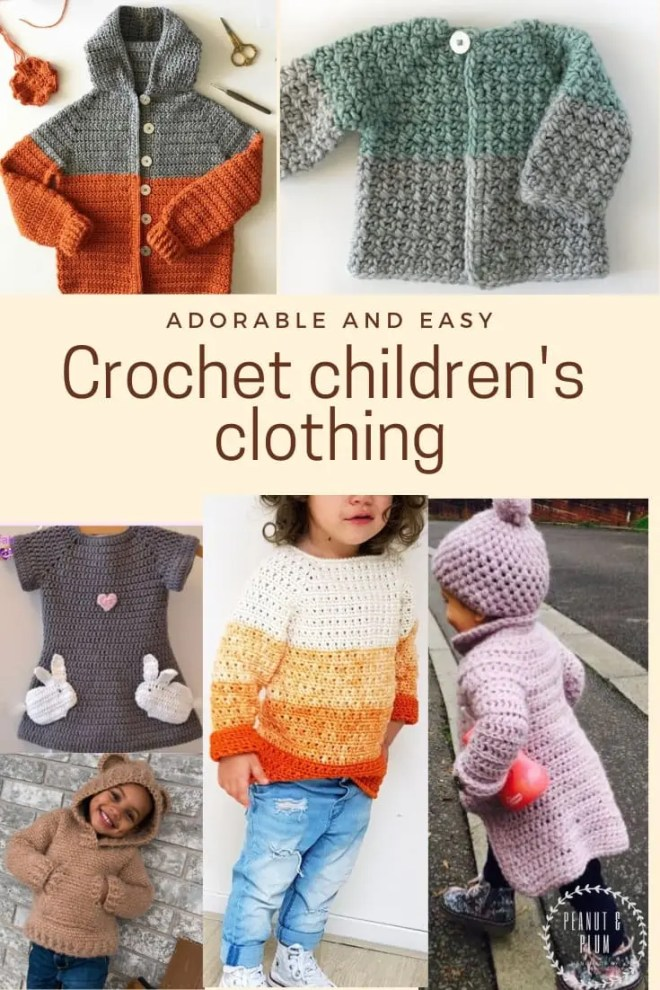 dabfd4f1f10f Adorable and easy children s clothing - crochet free patterns ...