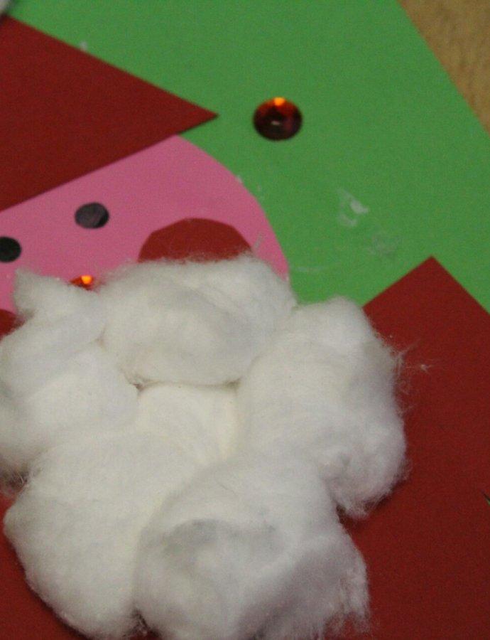 Christmas Craft Activity – Santa Shapes