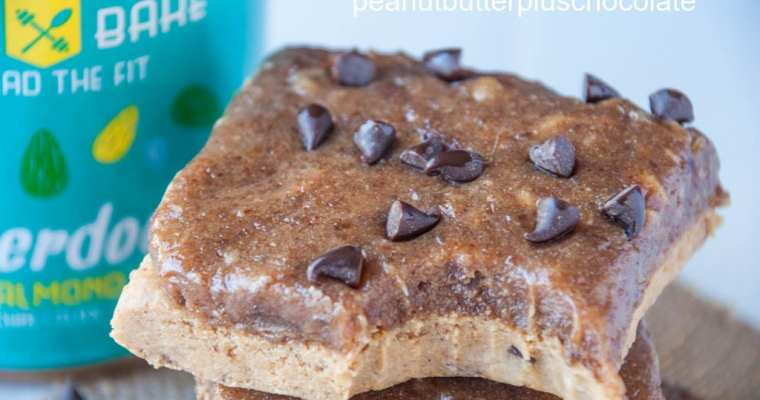 Chocolate Chip Cookie Dough Caramel Slice
