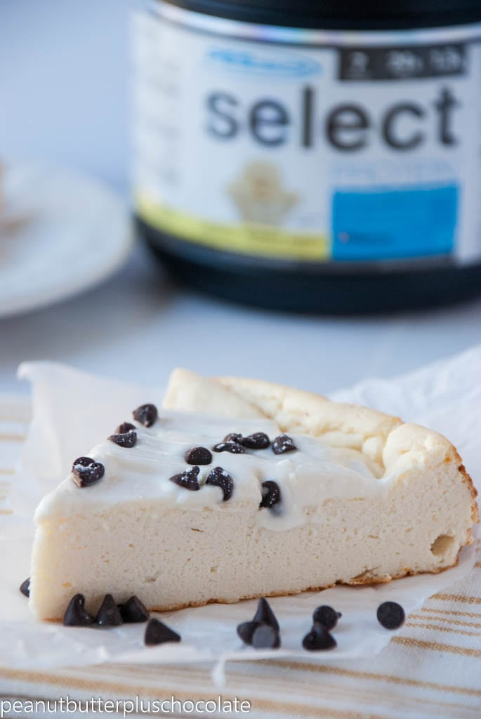 The Best Ever Cannoli Protein Cheesecake