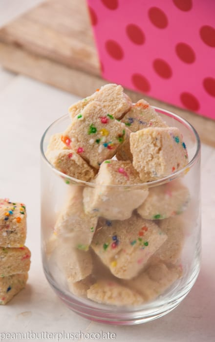 Healthy Sugar Cookie Fudge