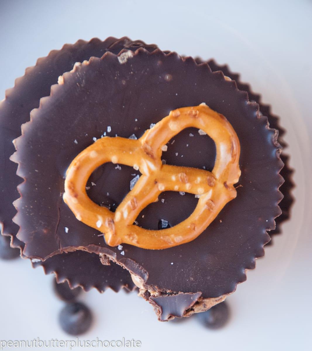 Chocolate Pretzel Peanut Butter Cups