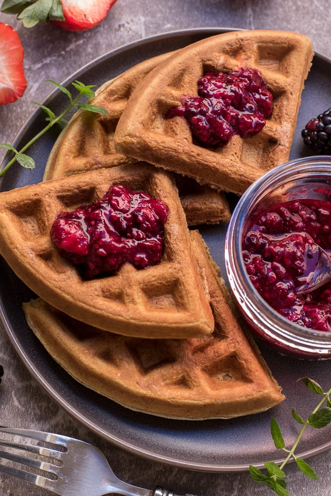 Healthy Classic Protein Waffles