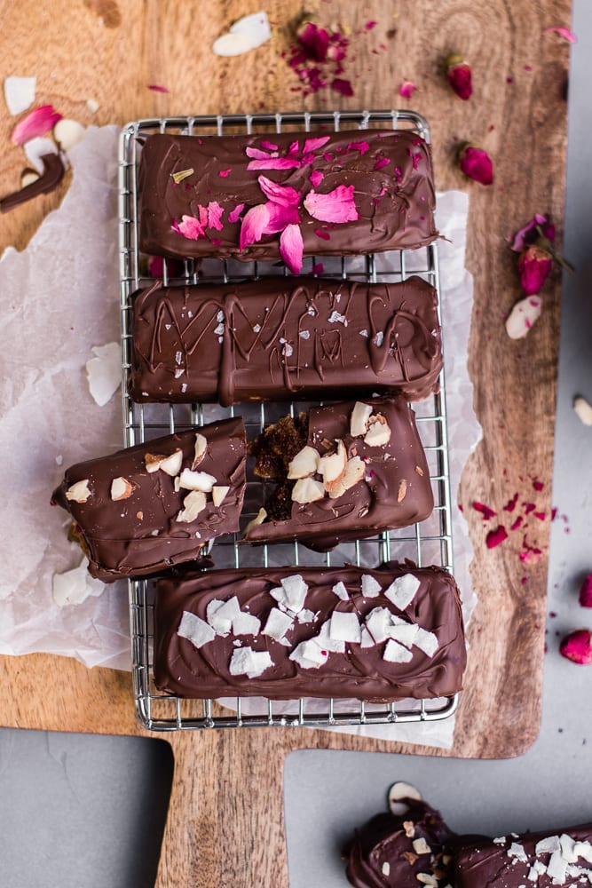 Healthy Almond Butter Coconut Bars