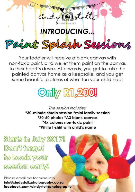 Cindy Stoltz Photography Paint Splash - PeanutGallery247
