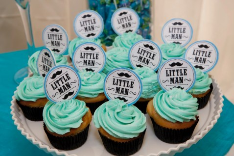 Little Man Cupcakes - PeanutGallery247