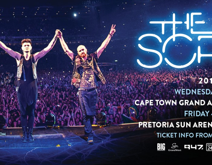 The Script returns to South Africa