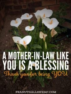 Grateful for Mother-in-law - PeanutGallery247