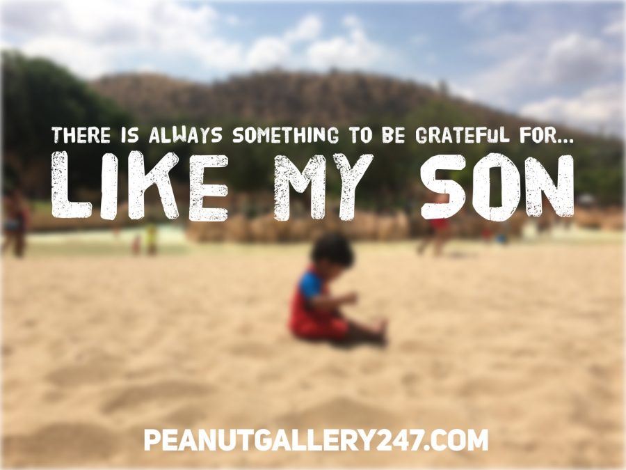 Grateful for my Son - PeanutGallery247
