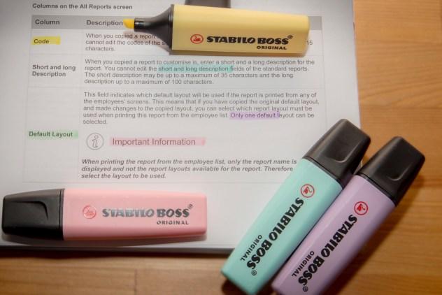 STABILO BOSS ORIGINAL Pastel Highlighters Review - PeanutGallery247