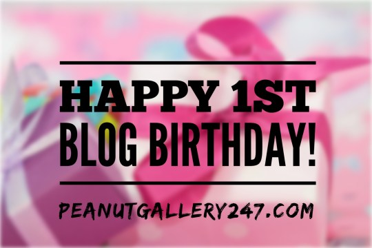 Peanut Gallery 247 - Blog Birthday