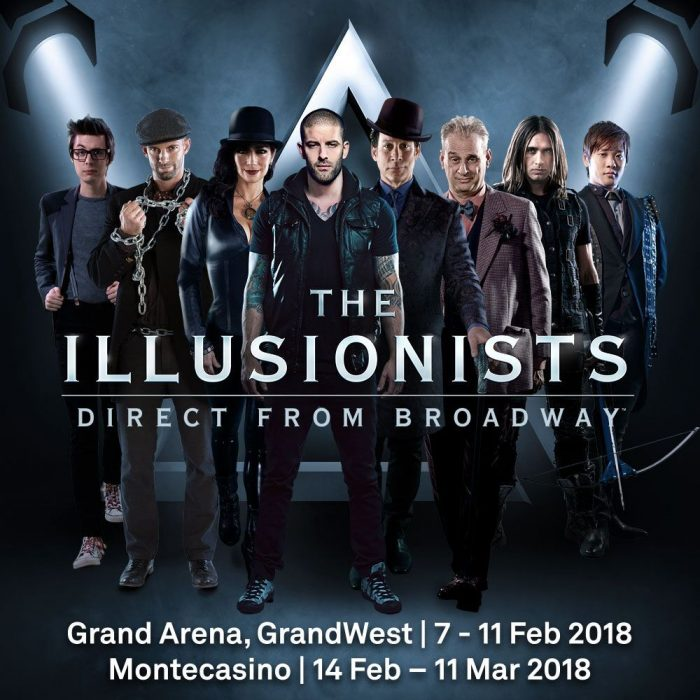 THE ILLUSIONISTS – SA TOUR 2018