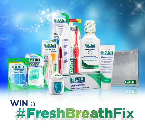 Fresh Breath February - Sunstar GUM - PeanutGallery247