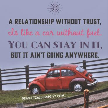 Trust - PeanutGallery247