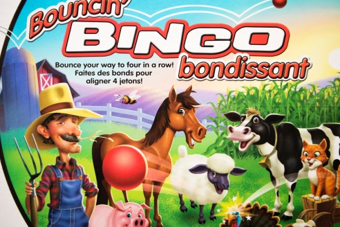 Board Games Review - Bouncin' Bingo - PeanutGallery247