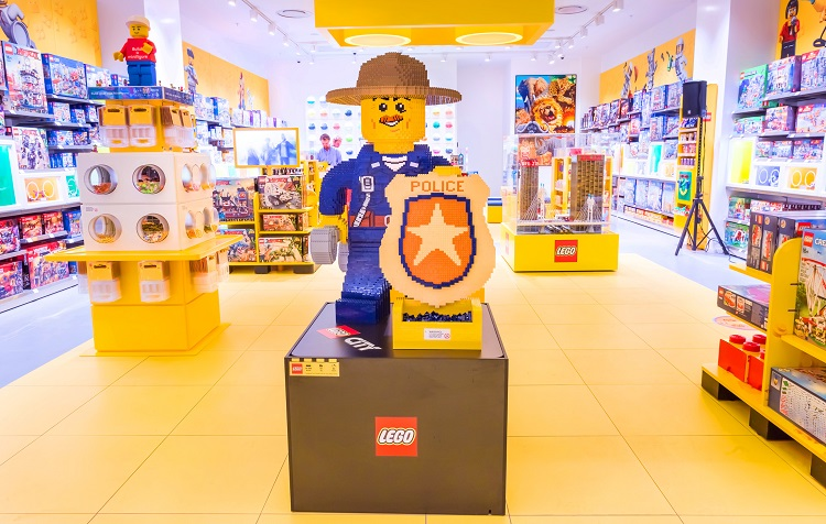 The first LEGO Certified Store in Sandton City, South Africa!