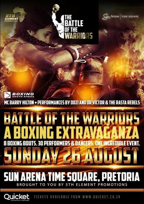 Battle of the Warriors – Win Tickets