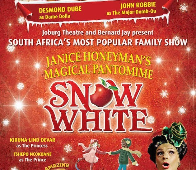 Snow White Panto – at Joburg Theatre