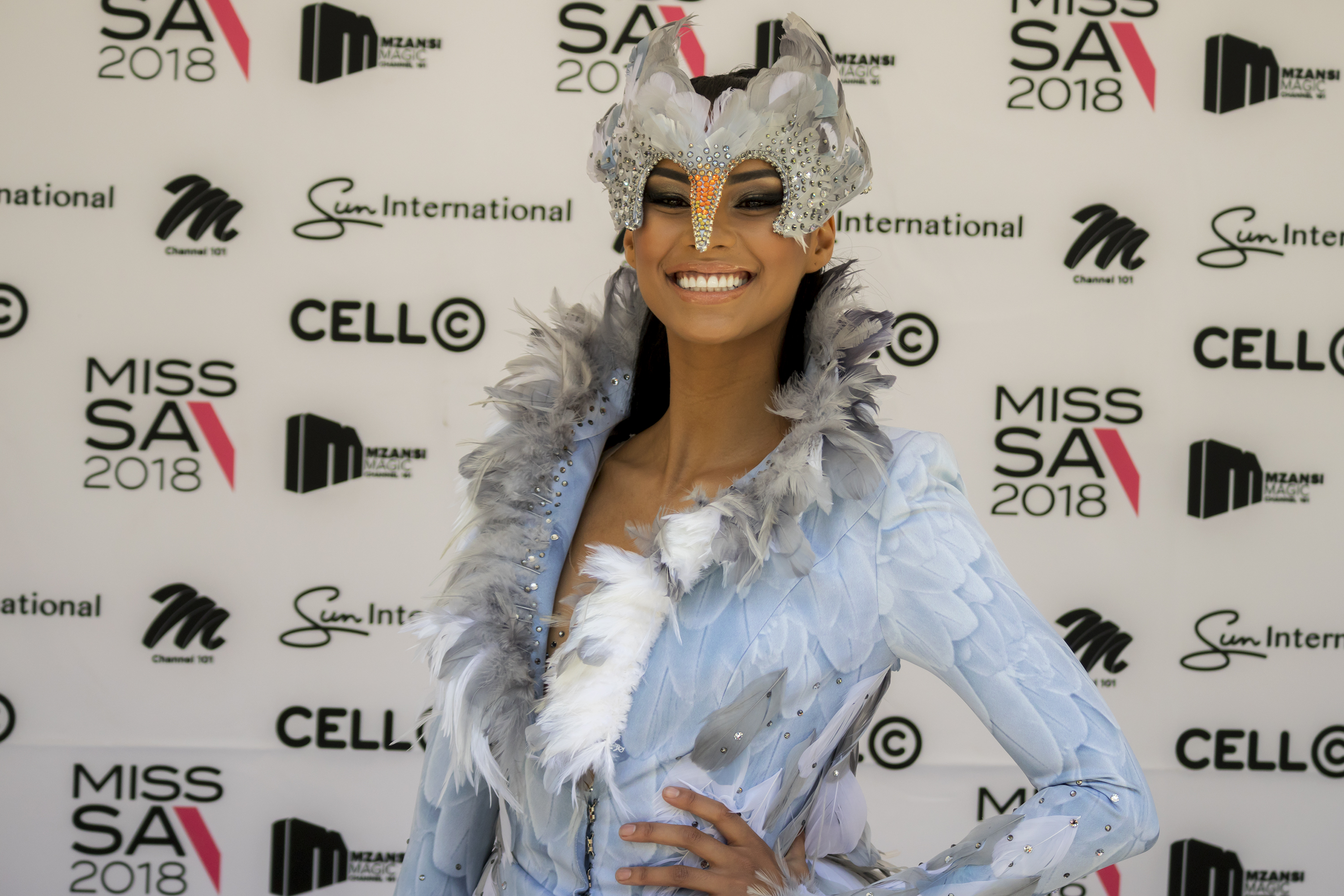 Miss SA Tamaryn Green reveals outfits for Miss Universe