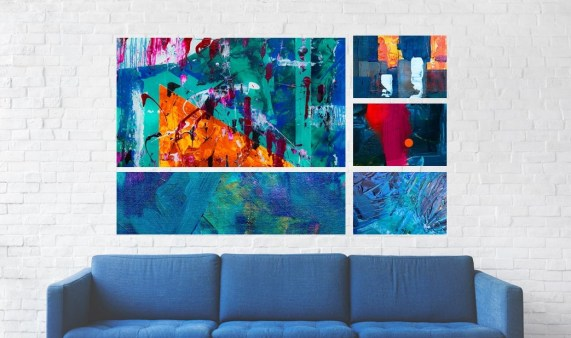 1st Art Oil Paintings - creative ways to expose your favorite paintings f -PeanutGallery247.jpg