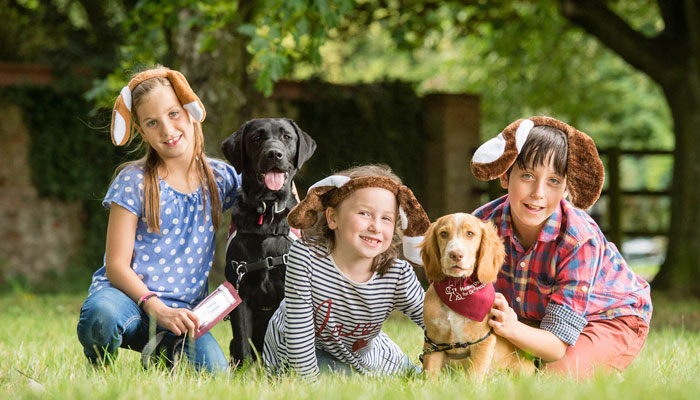 Common dog breeds for family & children