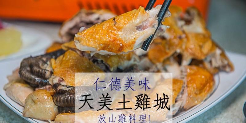 [台南美食]{仁德 餐廳}天美土雞城 放山雞料理專門店 近奇美博物館