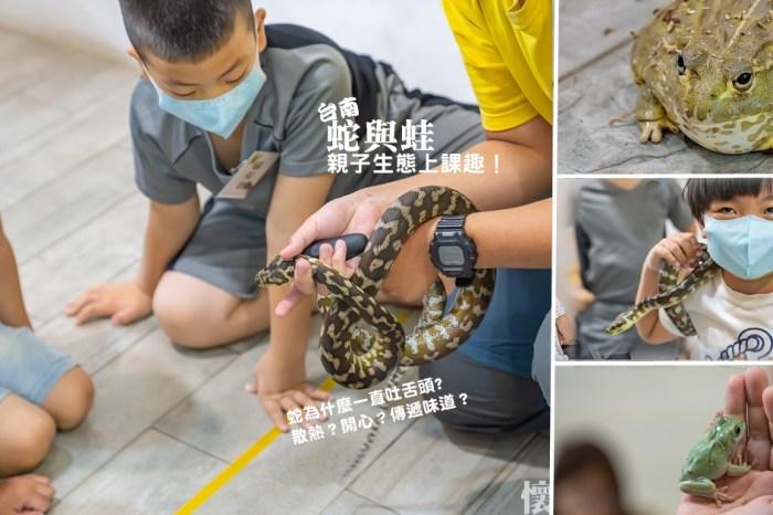 台南親子生態課|蛇為什麼一直吐舌頭?與孩子一起探索「蛇與蛙」的神祕生態課,從小培養正確觀念,戶外活動沒煩惱!認識蛇與蛙:合拍文教