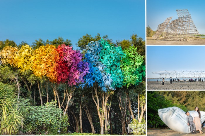 2021漁光島藝術節|繽紛壯闊的海島藝術展!3/27~4/18就在台南漁光島,還有市集好好逛