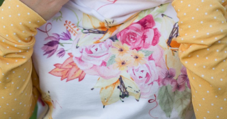 Raspberry Creek Fabrics + Tami Hoodie = LOVE