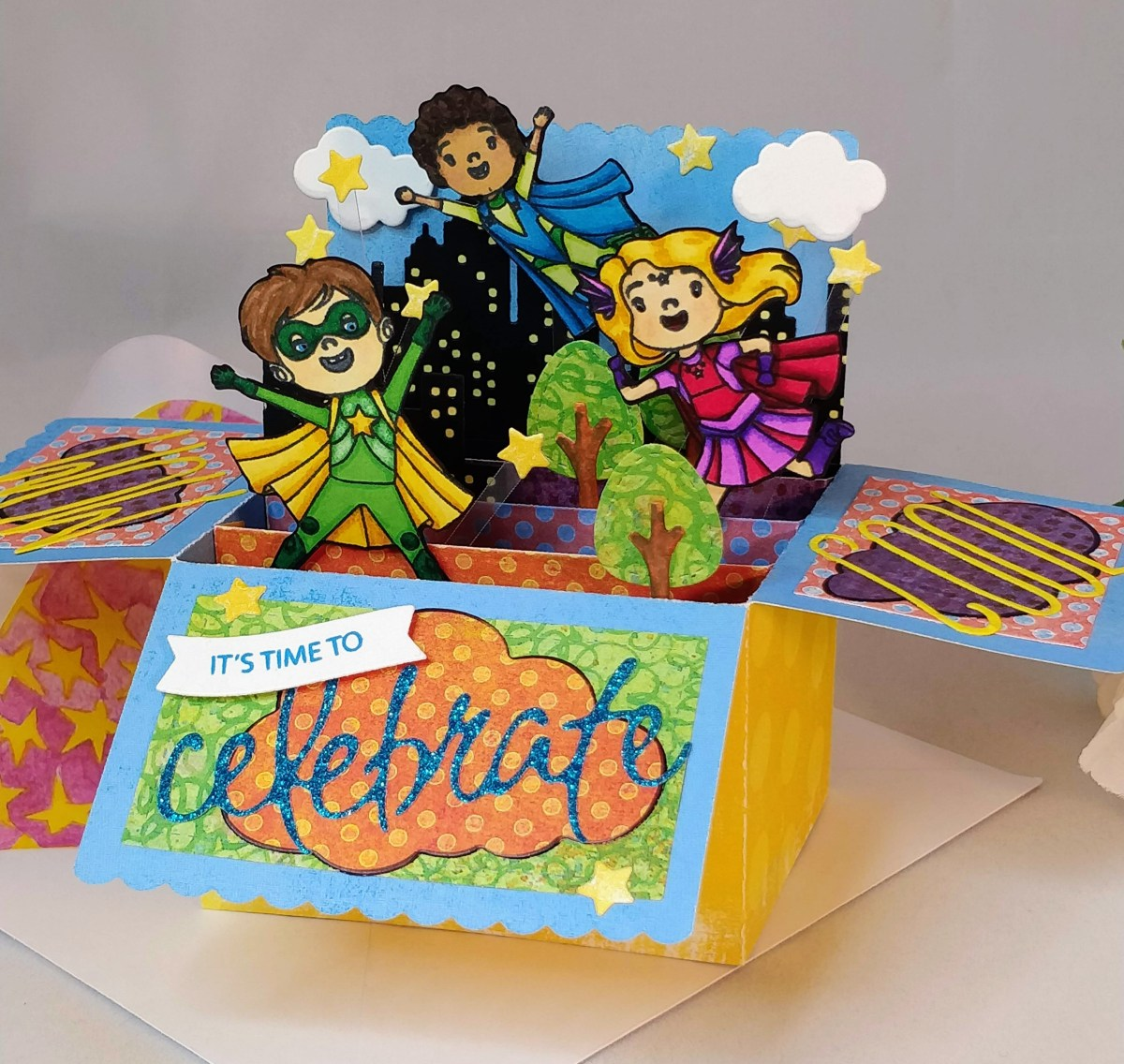 Super Birthday Box Card