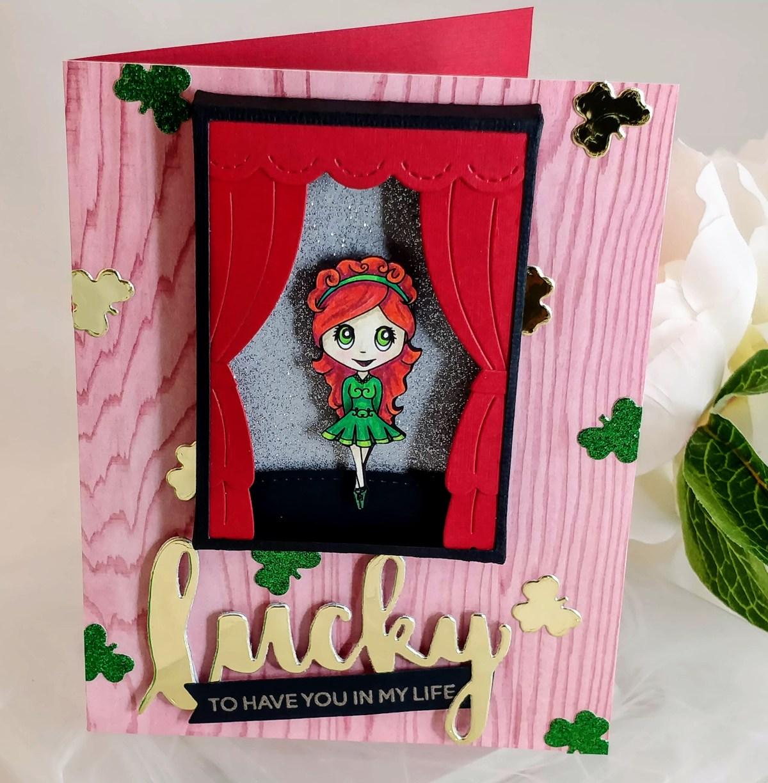 Lucky Irish Stepdancer