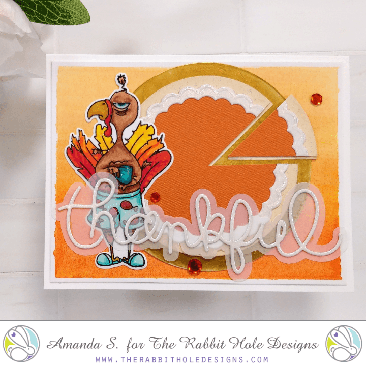 Turkey and Pie – The Rabbit Hole Designs and Therm-O-Web Collab