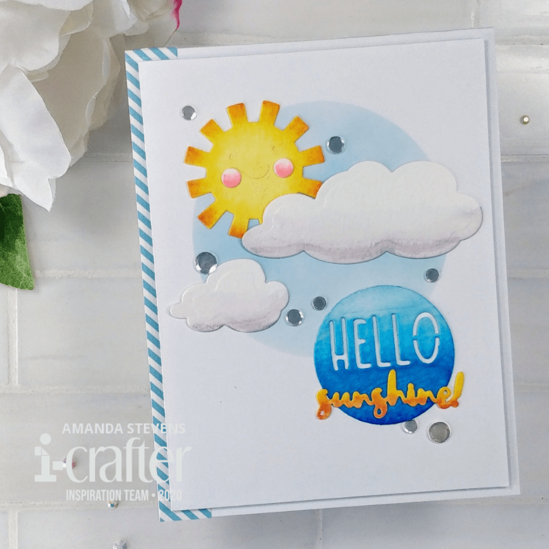 Hello Sunshine – Quick and Easy Card