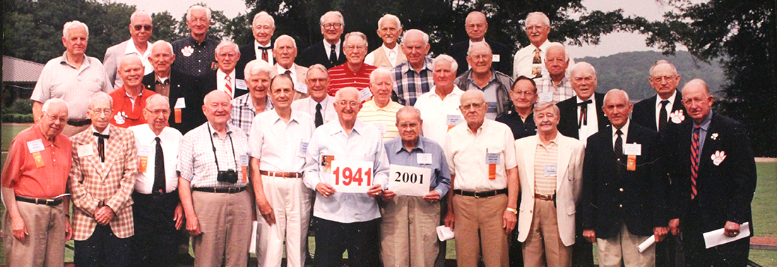Class of 1941 at 2001 Reunion