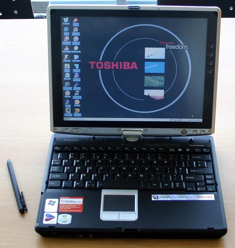 My First Tablet PC - A Toshiba Portégé M200