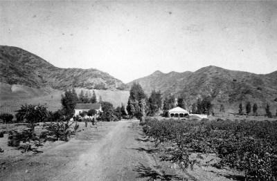 Jacob Miller Farm Hollywood Hills 1870s