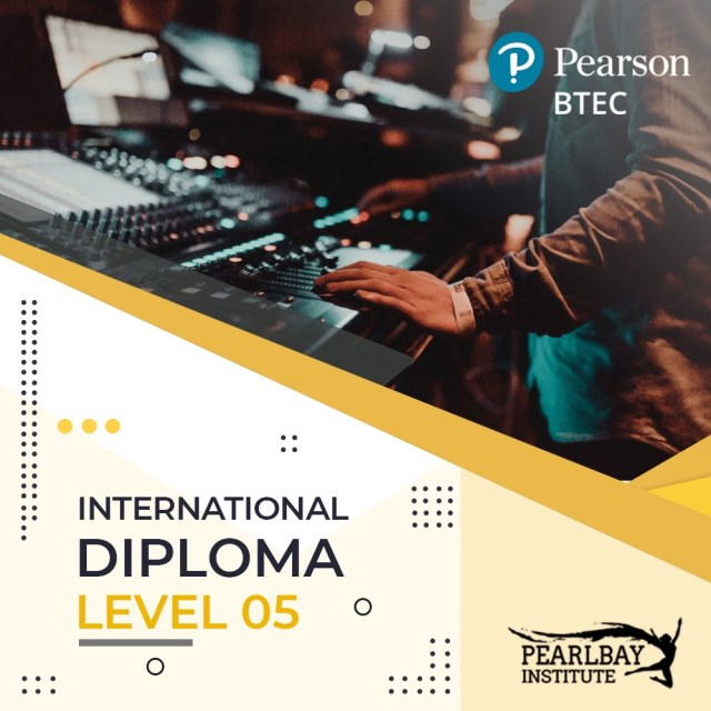 Pearson BTEC -Higher National Diploma – Level 05