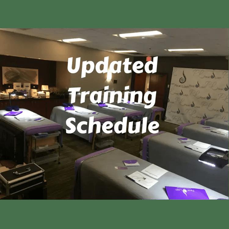 Whats Happening At Pearl Lash - July 2018
