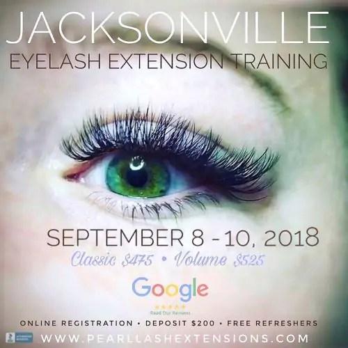 Eyelash Extensions The Splurge You Deserve: Jacksonville Volume Eyelash Extension Training September 2018