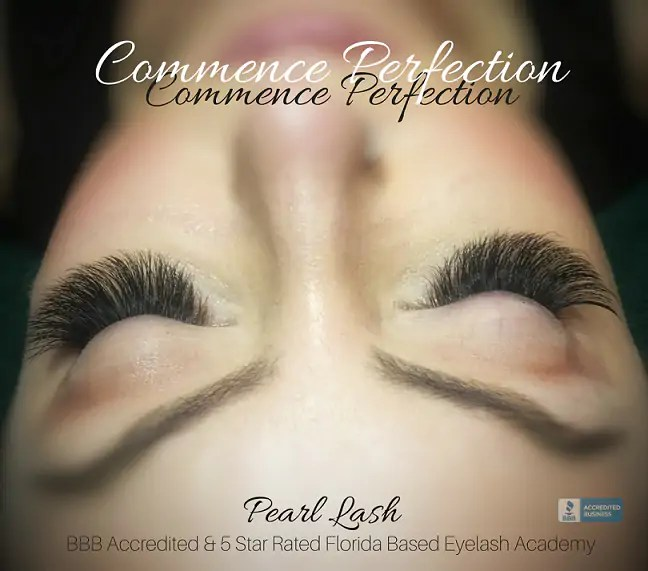 Eyelash Extension Training Academy Florida Pearl Lash