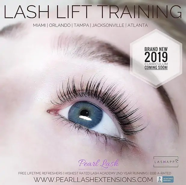 eyelash extension training academy florida | pearl lash