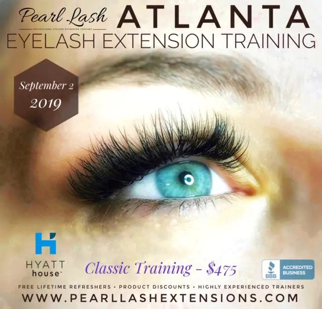 Eyelash Extensions The Splurge You Deserve: Atlanta Eyelash Extension Training Classic September 2