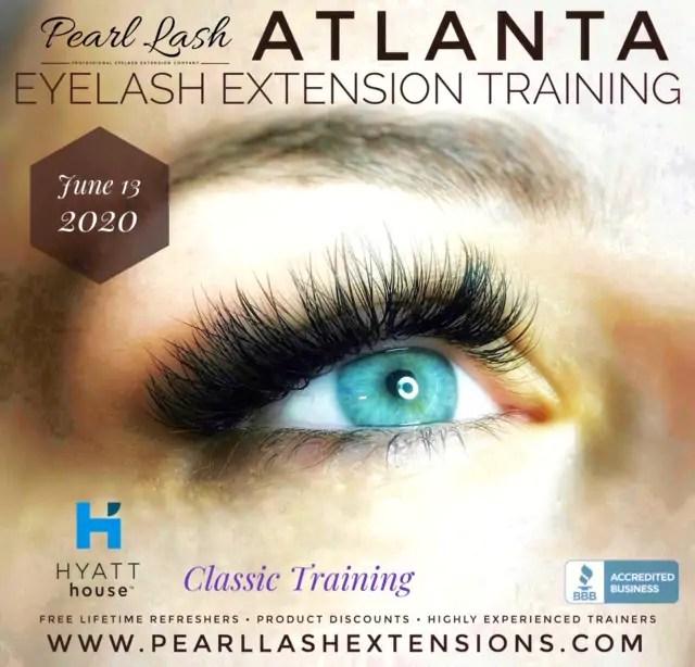 Atlanta Classic Eyelash Extension Training