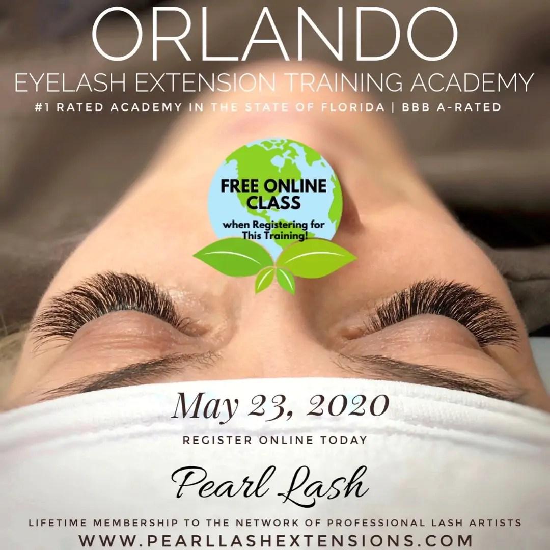 Orlando Classic Eyelash Extension Training May 23, 2020 ...