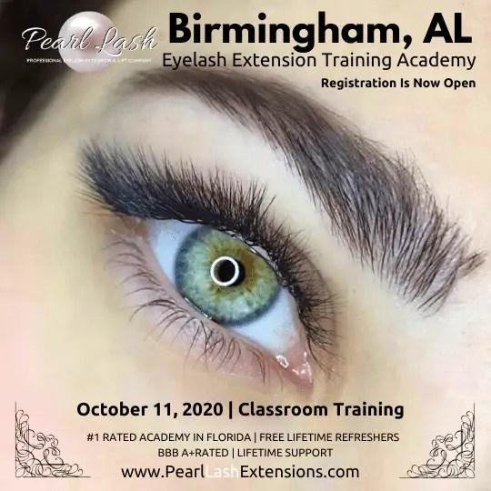 Eyelash Extension Classic Training Birmingham, AL by Pearl Lash