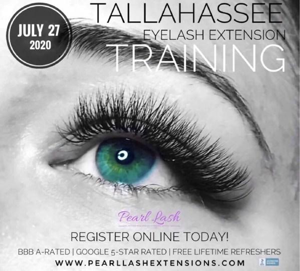 Tallahassee Classic Eyelash Extension Training by Pearl Lash