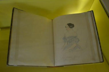 Victoria took drawing lessons while queen and there were sketches of hers everywhere.