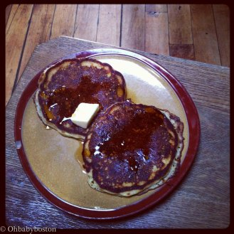 The only other corn and jalapeño pancakes I crave. These are from Lone Star Taco Bar in Allston. I haven't been yet but there is also a Lone Star Taco Bar in Cambridge too now.