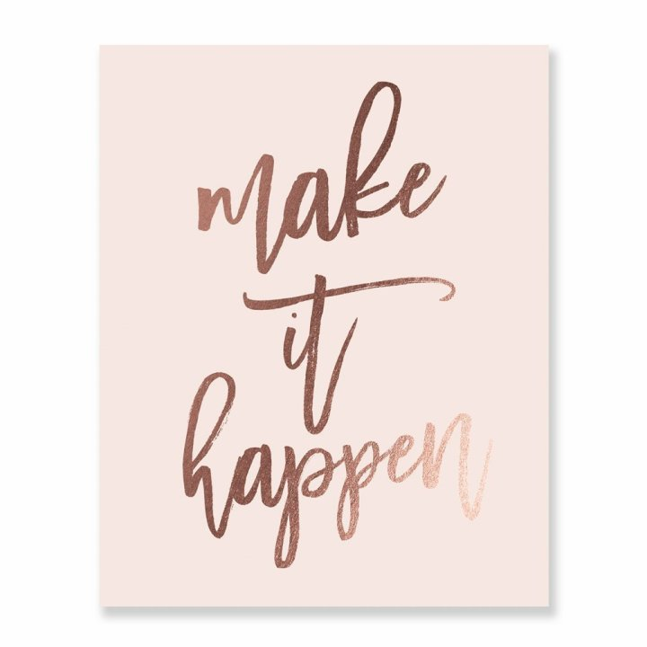 Make it Happen Print
