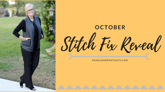 October Stitch Fix Reveal